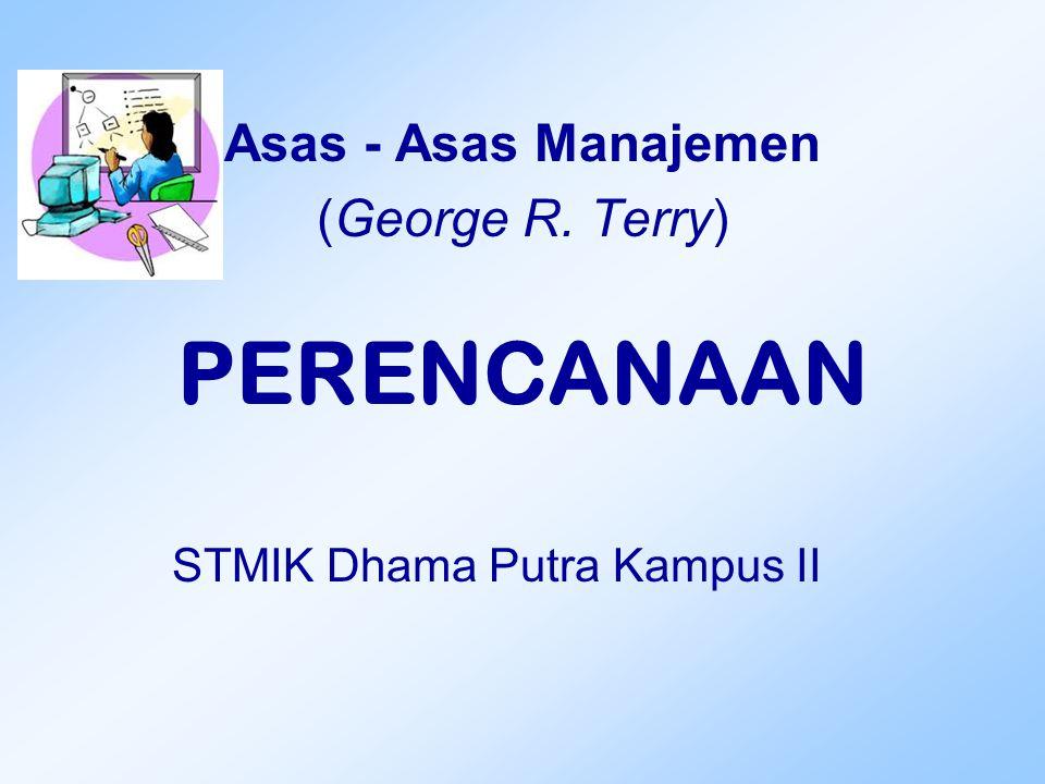Asas - Asas Manajemen (George R. Terry)