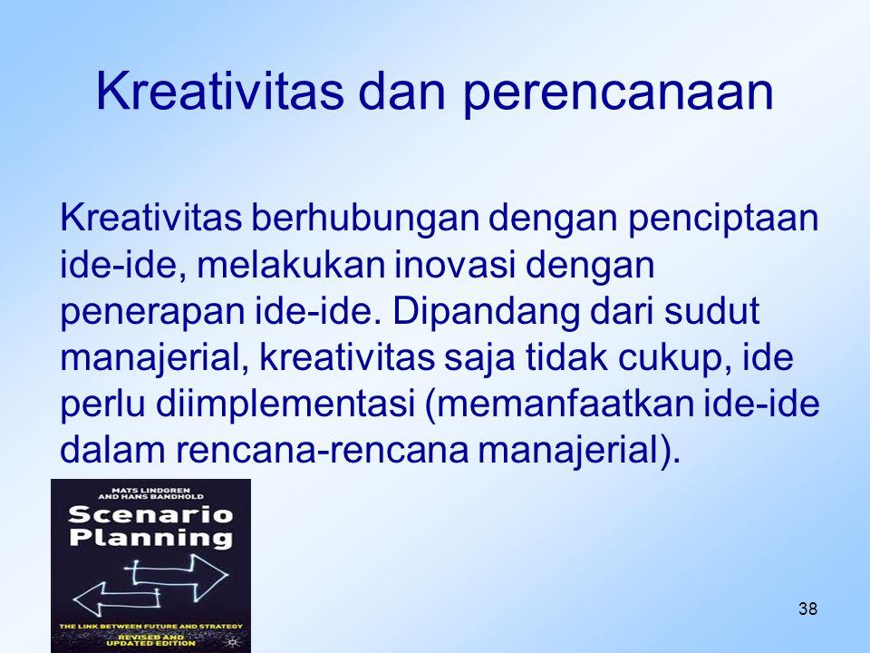 Kreativitas dan perencanaan