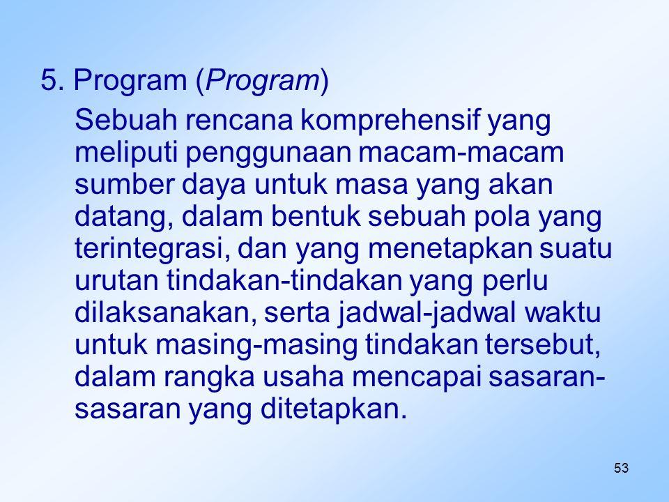5. Program (Program)