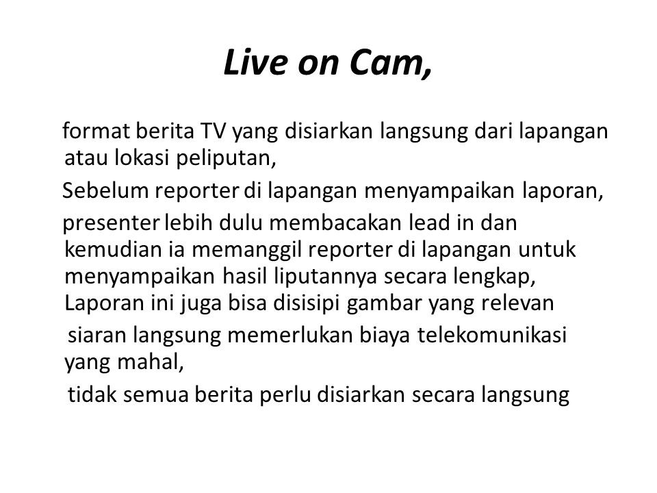 Live on Cam,
