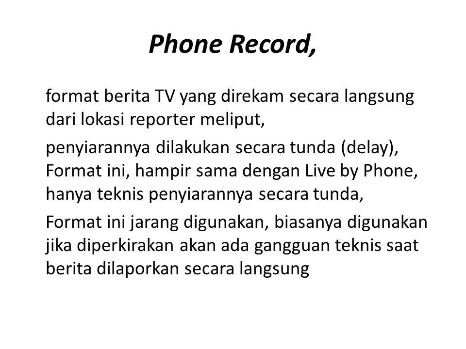 Phone Record,