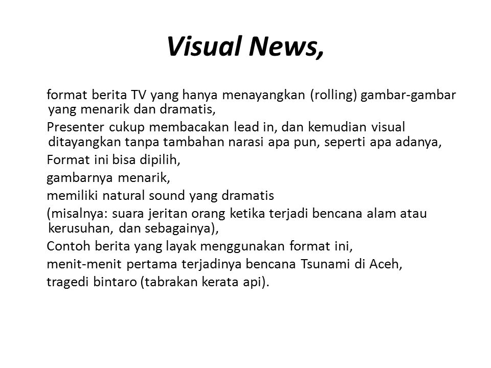 Visual News,