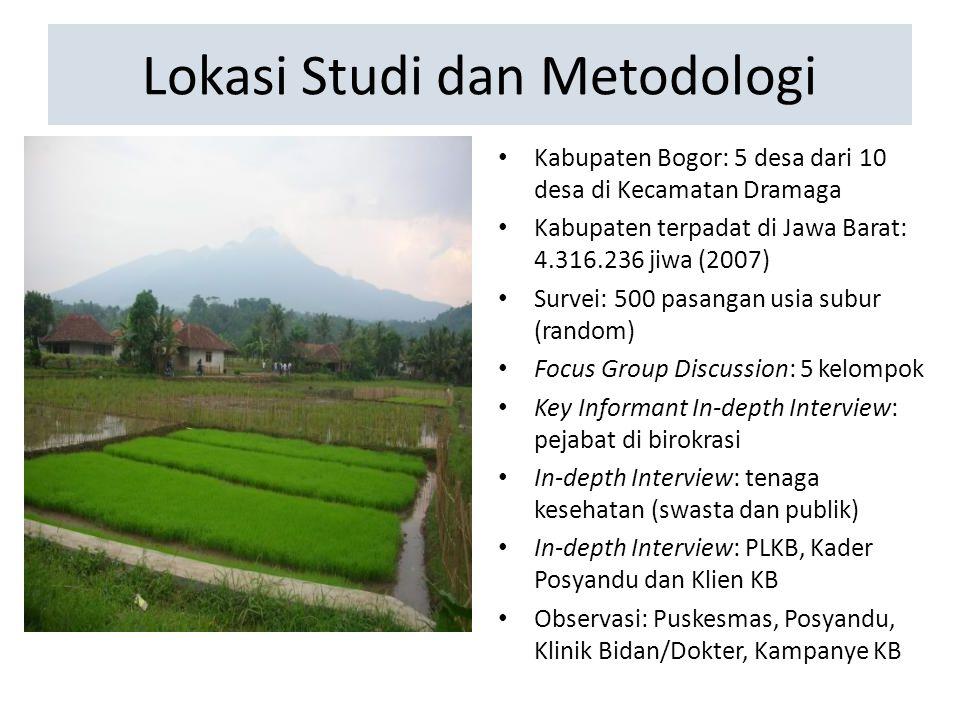 Lokasi Studi dan Metodologi
