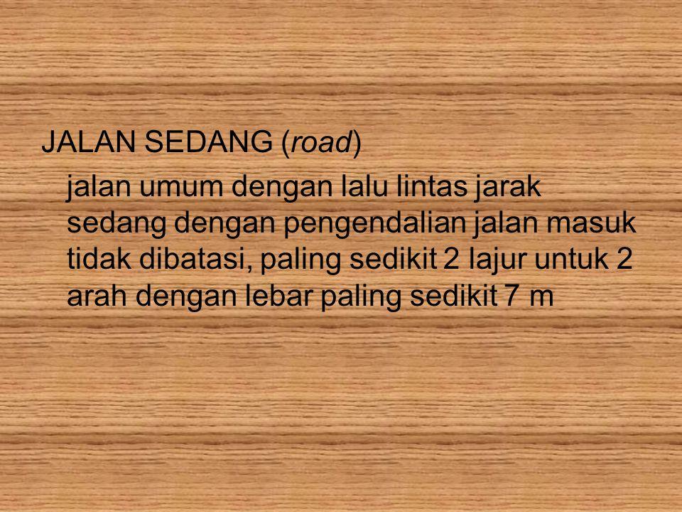 JALAN SEDANG (road)