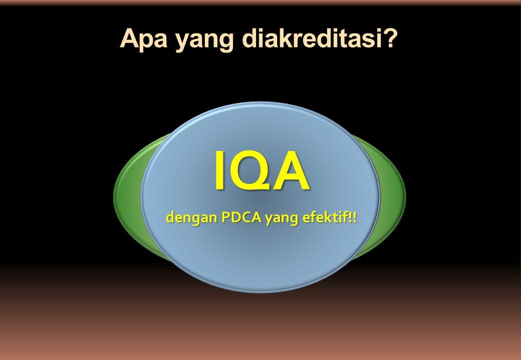 dengan PDCA yang efektif!!