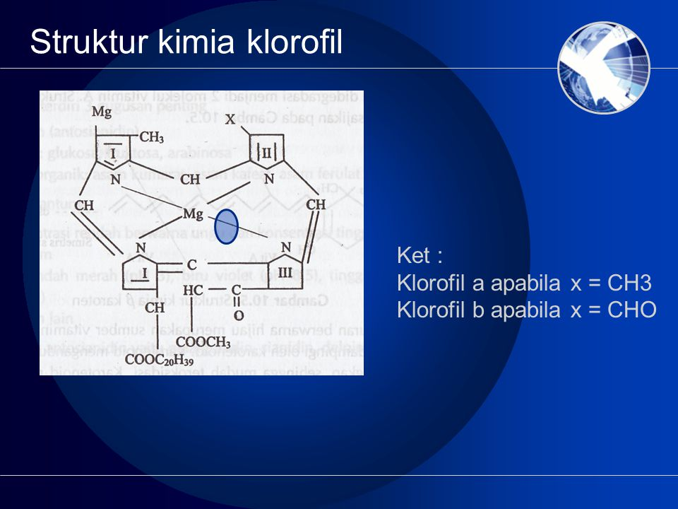 Struktur kimia klorofil