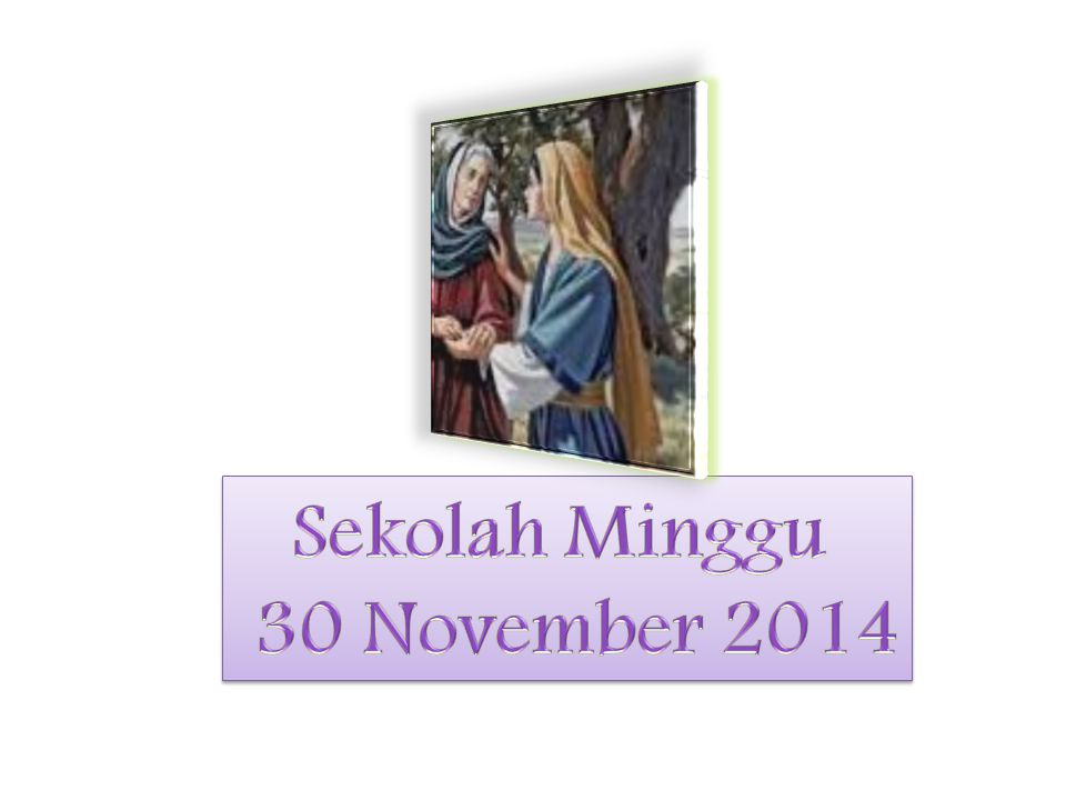 Sekolah Minggu 30 November 2014
