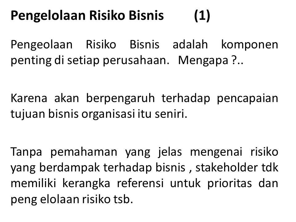 Pengelolaan Risiko Bisnis (1)