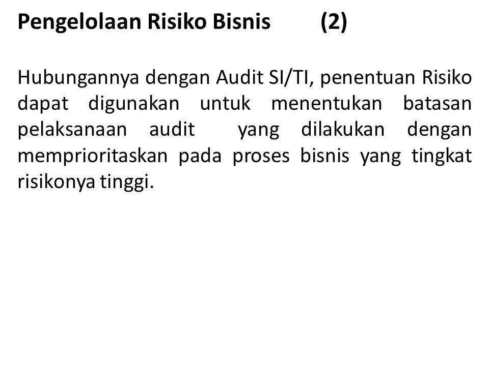 Pengelolaan Risiko Bisnis (2)