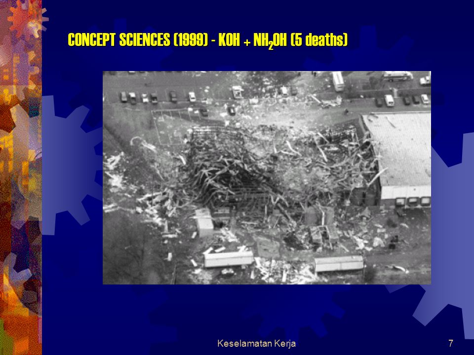 CONCEPT SCIENCES (1999) - KOH + NH2OH (5 deaths)