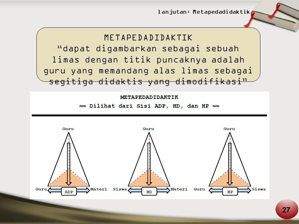 lanjutan: Metapedadidaktik