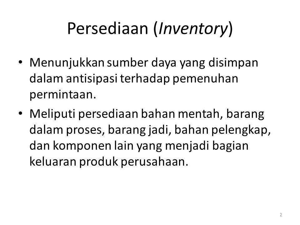 Persediaan (Inventory)