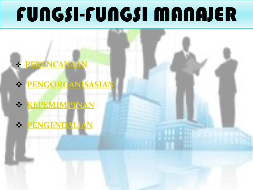FUNGSI-FUNGSI MANAJER