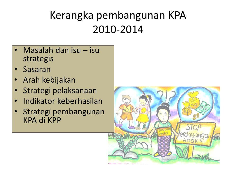 Kerangka pembangunan KPA 2010-2014