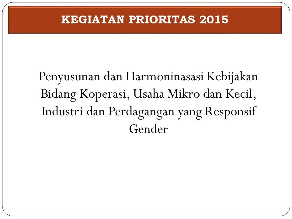 KEGIATAN PRIORITAS 2015