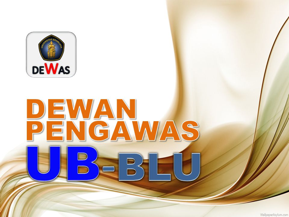 DEWAS DEWAN PENGAWAS UB-BLU