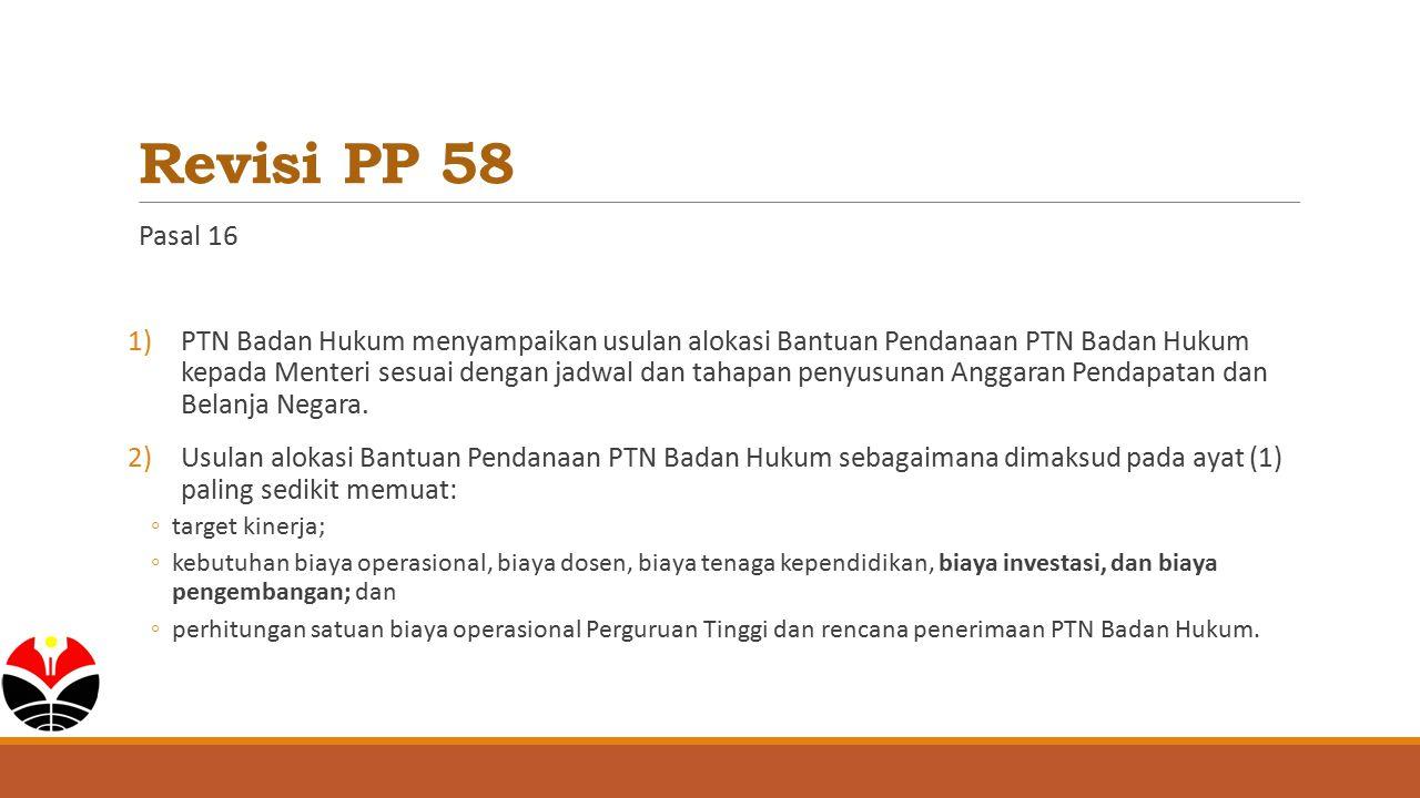 Revisi PP 58 Pasal 16.
