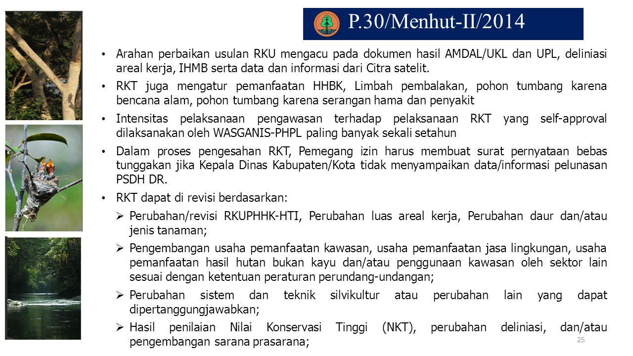 P.30/Menhut-II/2014