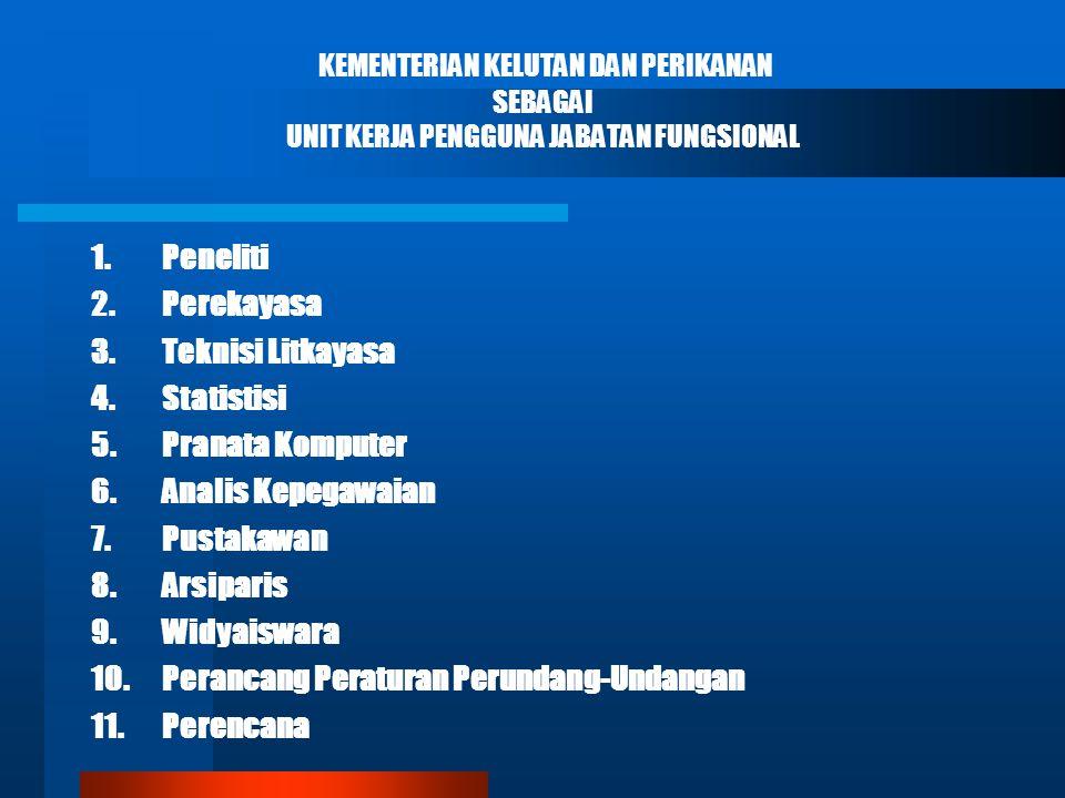 10. Perancang Peraturan Perundang-Undangan 11. Perencana