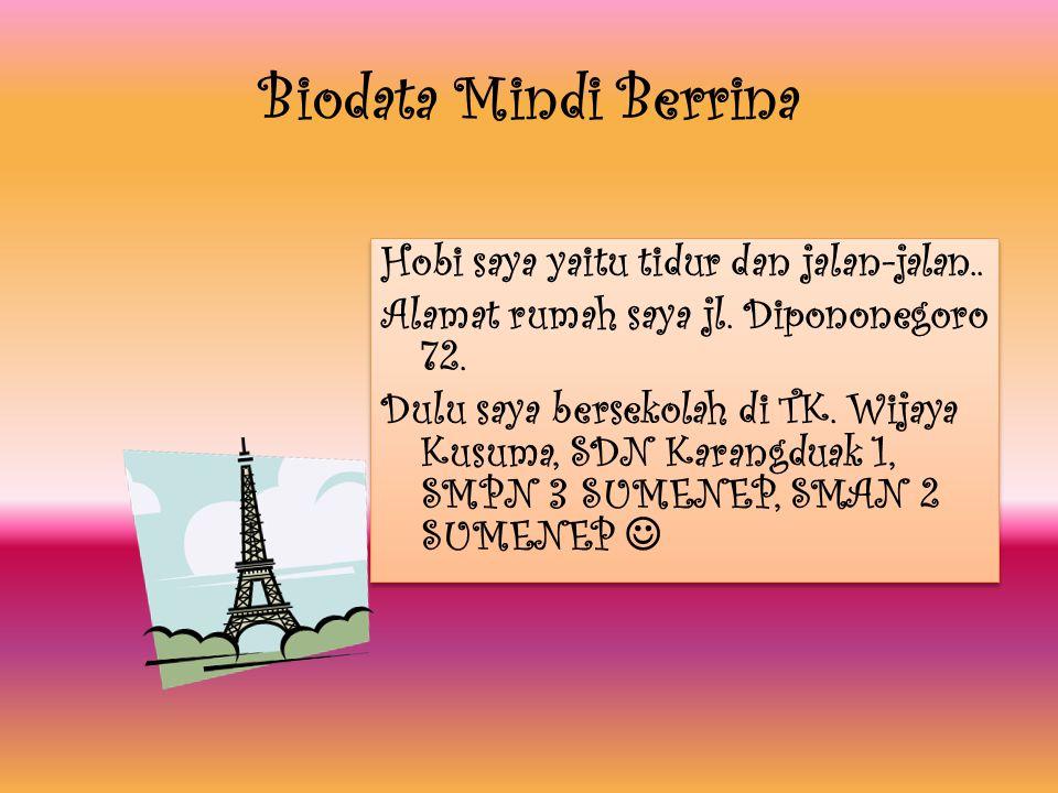 Biodata Mindi Berrina