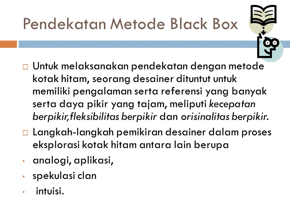 Pendekatan Metode Black Box