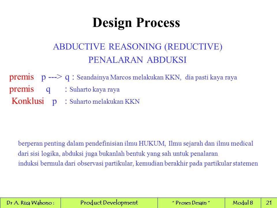 ABDUCTIVE REASONING (REDUCTIVE)