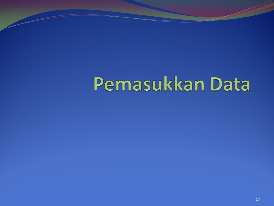 Pemasukkan Data