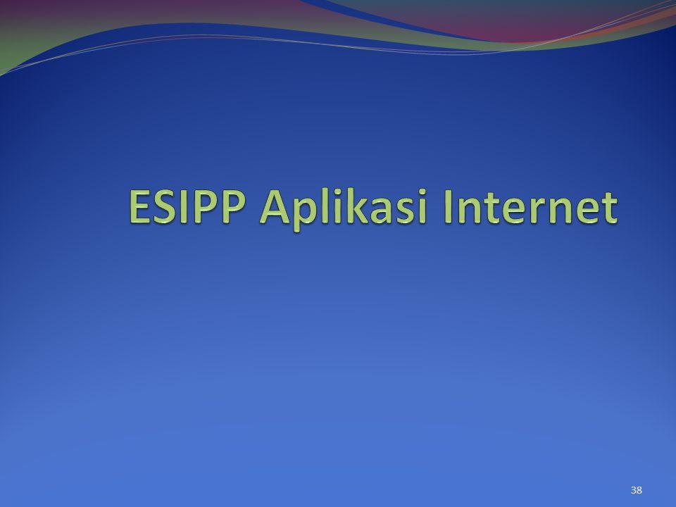 ESIPP Aplikasi Internet