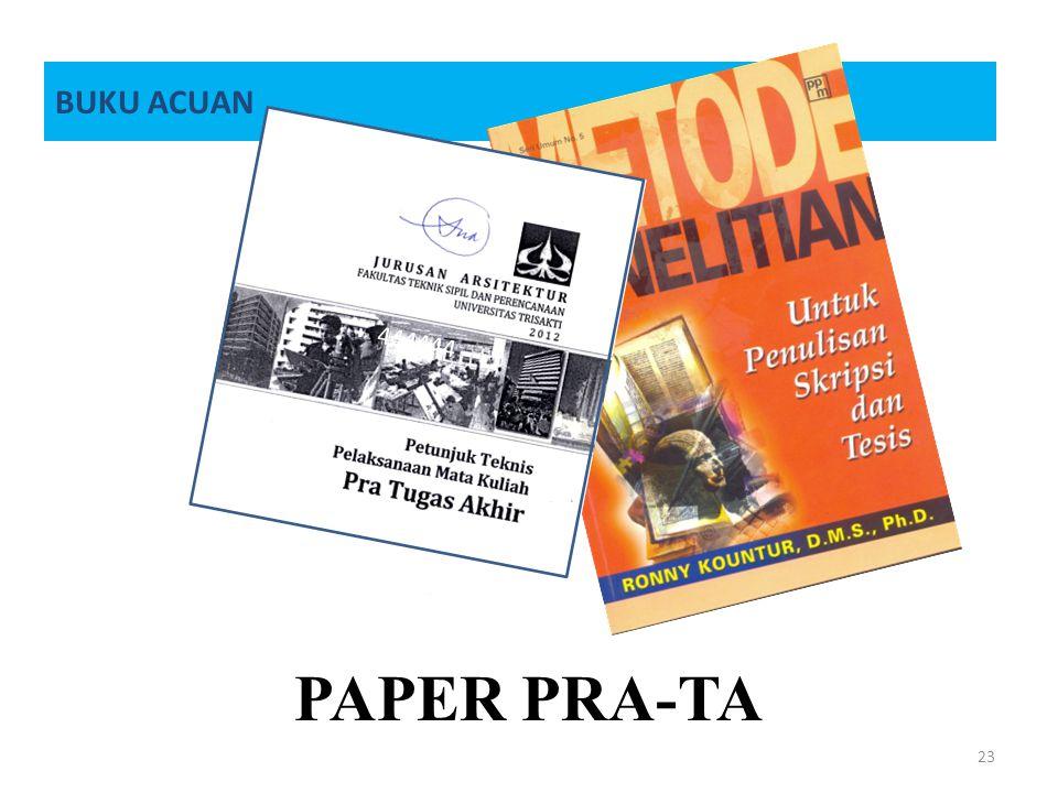 BUKU ACUAN 444444 PAPER PRA-TA