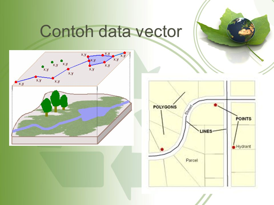 Contoh data vector