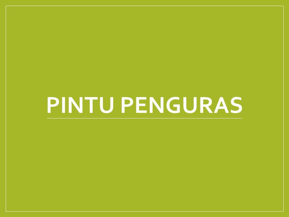PINTU PENGURAS