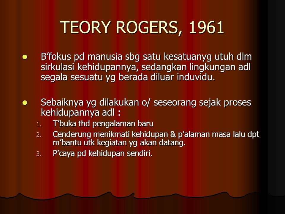 TEORY ROGERS, 1961