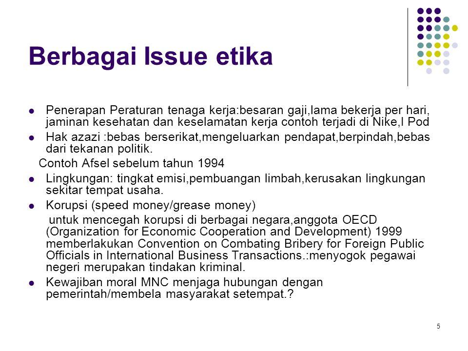Berbagai Issue etika