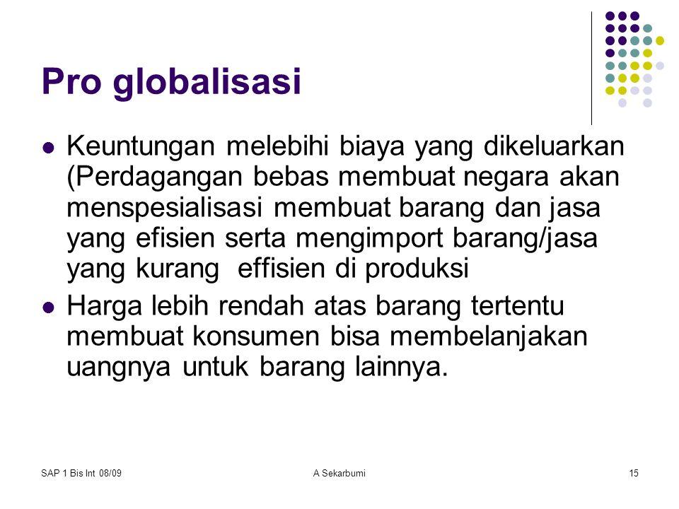 Pro globalisasi