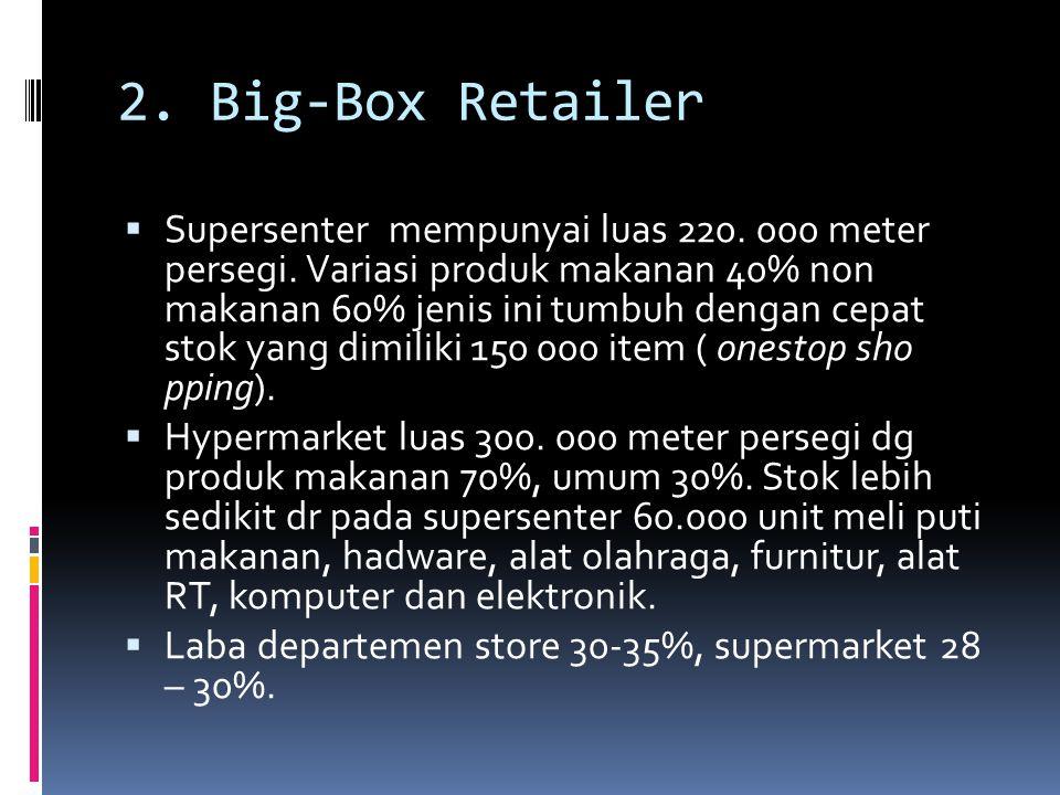 2. Big-Box Retailer