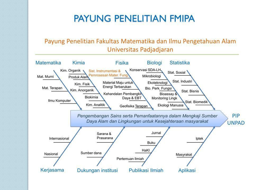 PAYUNG PENELITIAN FMIPA