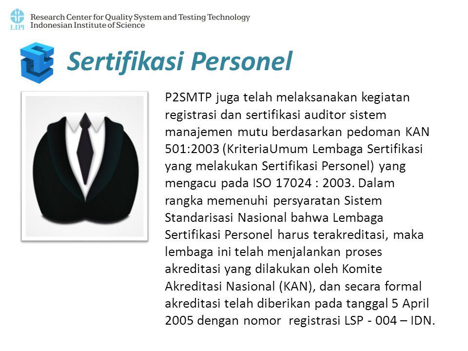 Sertifikasi Personel