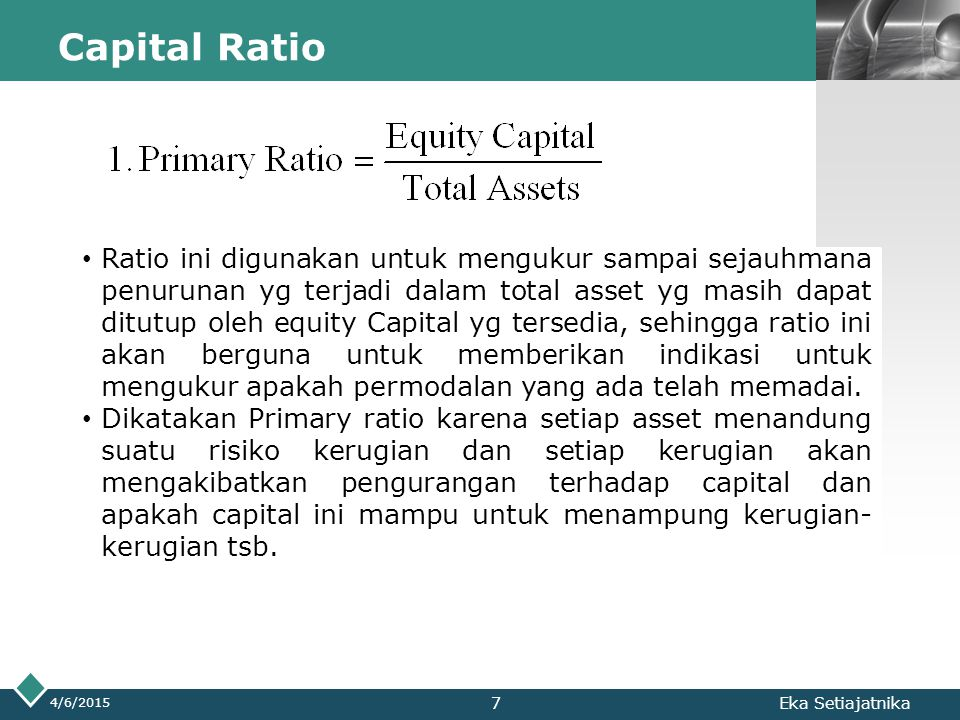 Capital Ratio