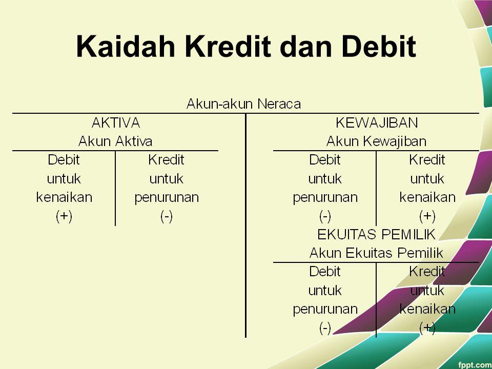Kaidah Kredit dan Debit
