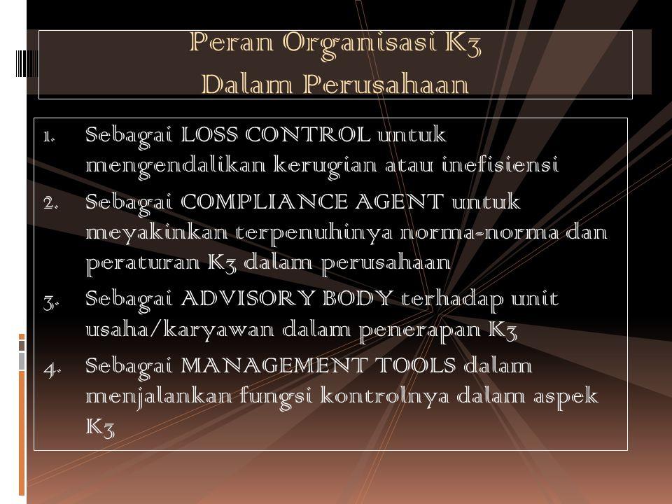 Peran Organisasi K3 Dalam Perusahaan