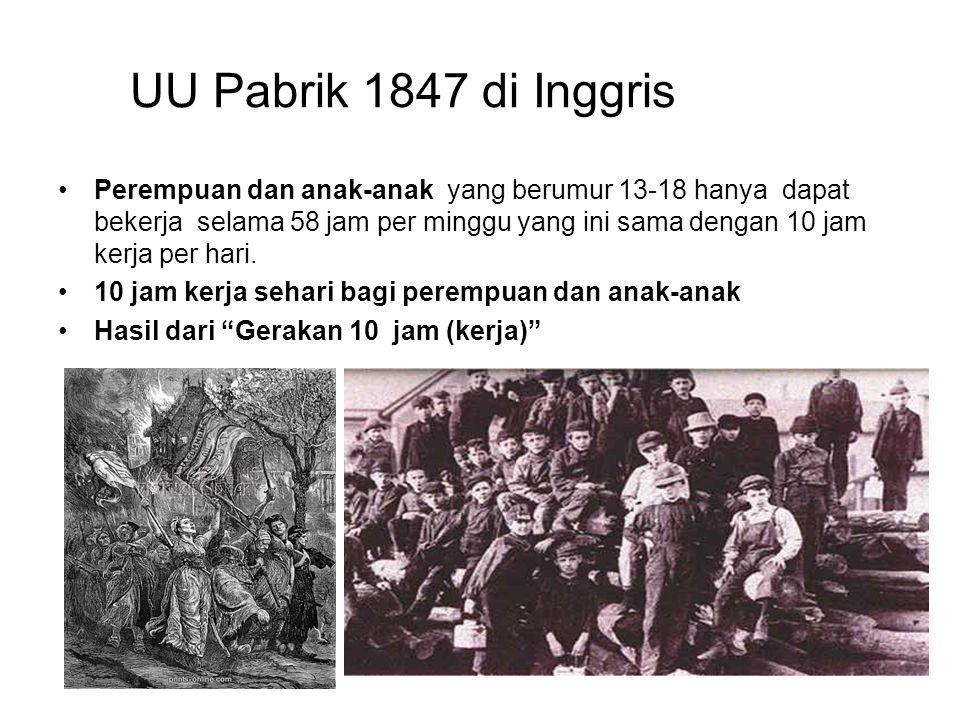 UU Pabrik 1847 di Inggris