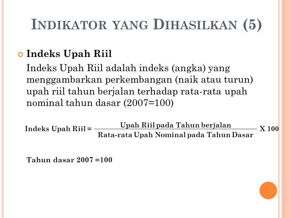 Indikator yang Dihasilkan (5)