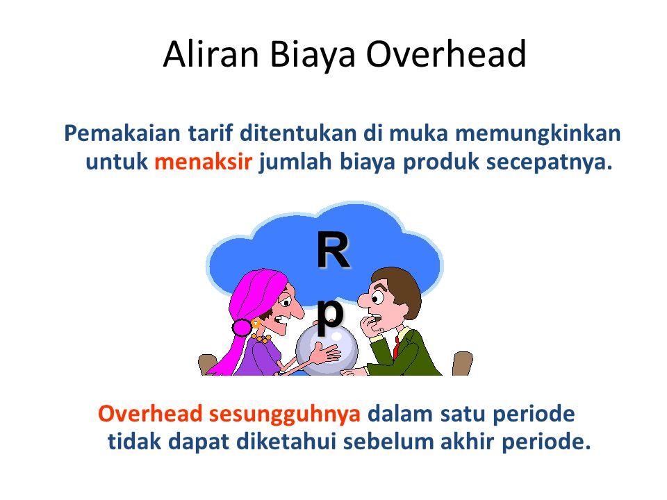 Rp Aliran Biaya Overhead