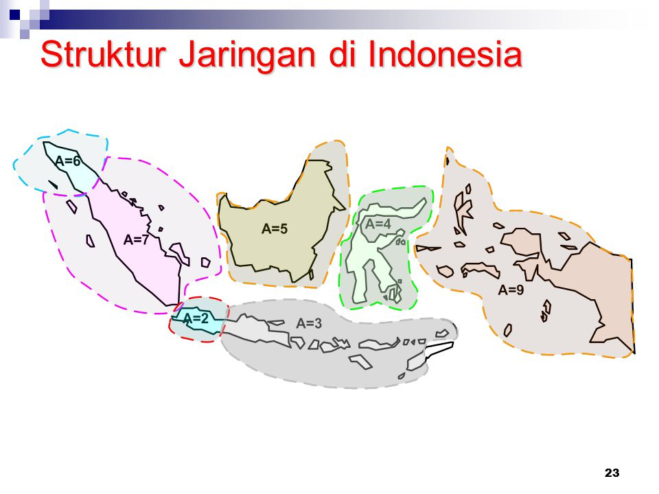 Struktur Jaringan di Indonesia