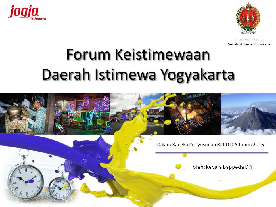 Forum Keistimewaan Daerah Istimewa Yogyakarta