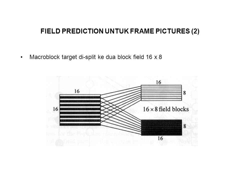 FIELD PREDICTION UNTUK FRAME PICTURES (2)