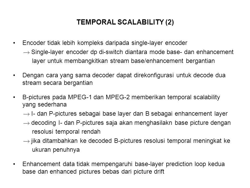 TEMPORAL SCALABILITY (2)