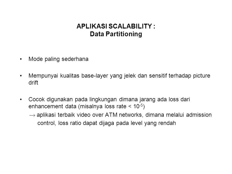 APLIKASI SCALABILITY : Data Partitioning