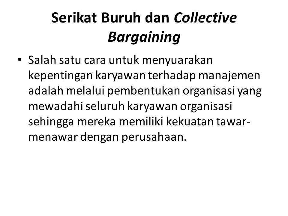 Serikat Buruh dan Collective Bargaining