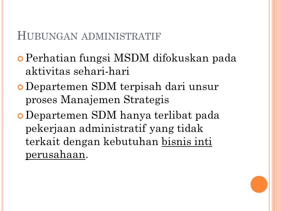 Hubungan administratif